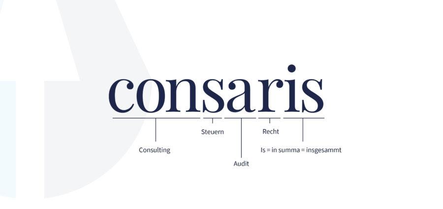Umfirmierung zur consaris AG Wirtschaftsprüfungsgesellschaft Steuerberatungsgesellschaft bzw. consaris AG Steuerberatungsgesellschaft